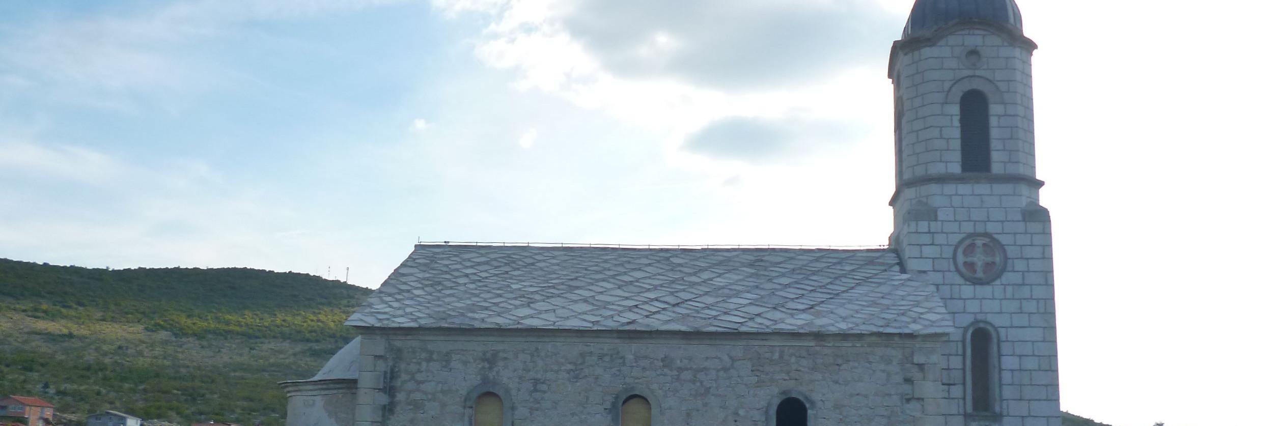 Церковь св. Василия Острожского в Благае