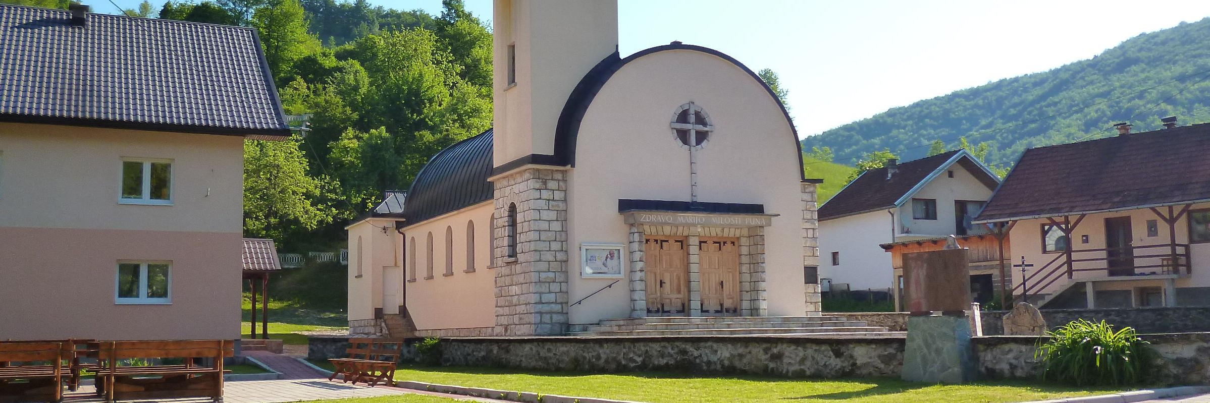 Церковь Девы Марии Снежной в Дежевице. Фото: Елена Арсениевич, CC BY-SA 3.0