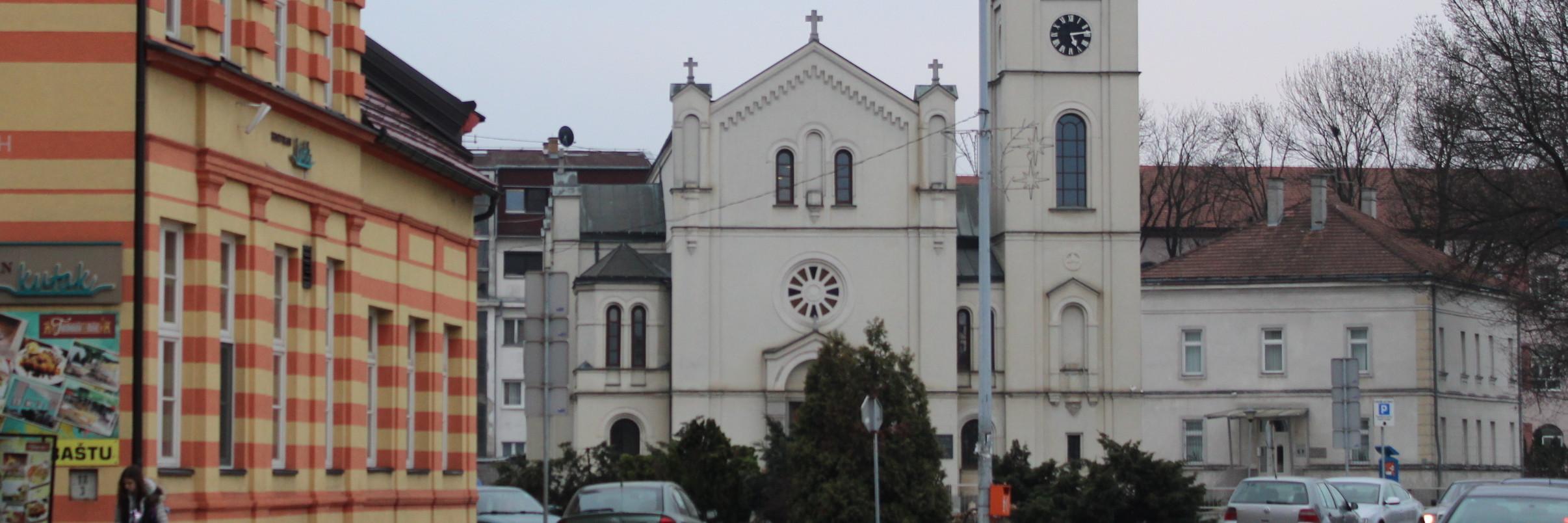 Церковь Святейшего Сердца Иисуса в Брчко
