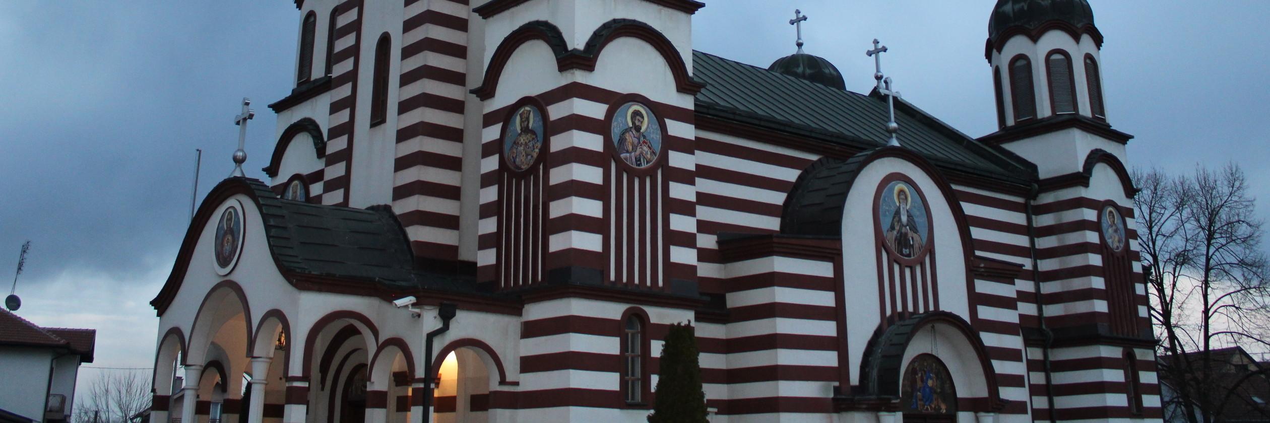 Церковь Успения Богородицы в Брчко. Фото: Елена Арсениевич, CC BY-SA 3.0