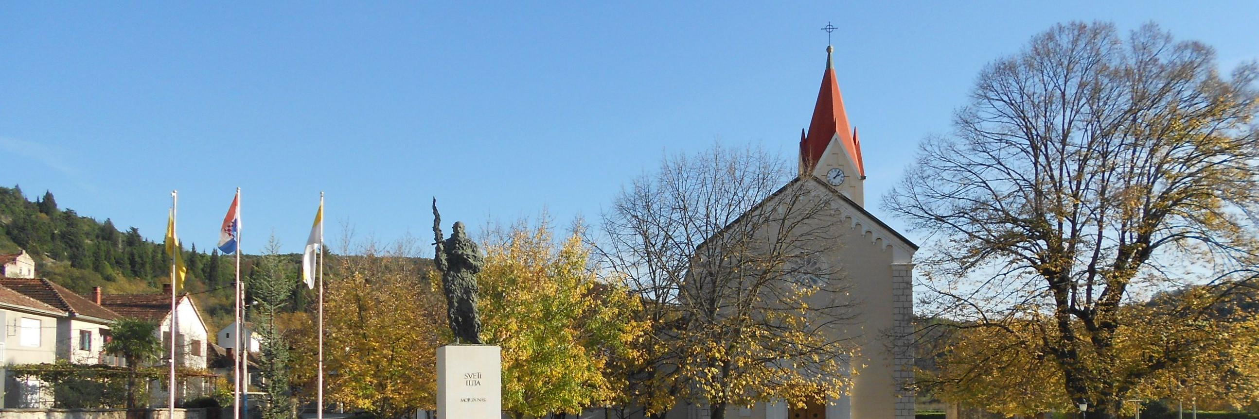Церковь св. пророка Илии в Столаце. Фото: Елена Арсениевич, CC BY-SA 3.0