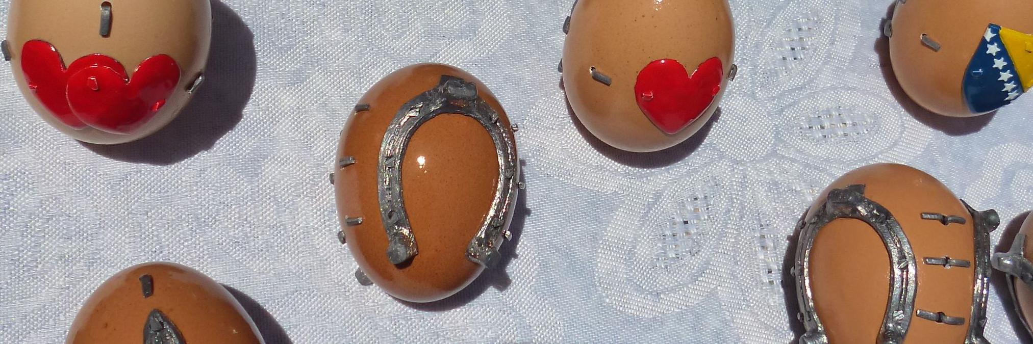 Подкованные яйца из Крешево