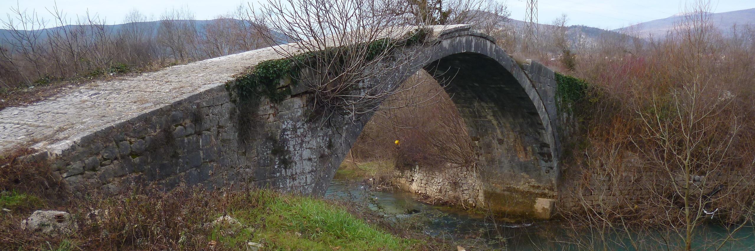 Мост в Клепцах