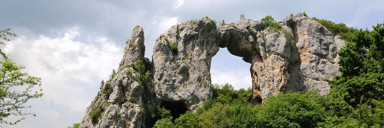 Скала Каменный Мост