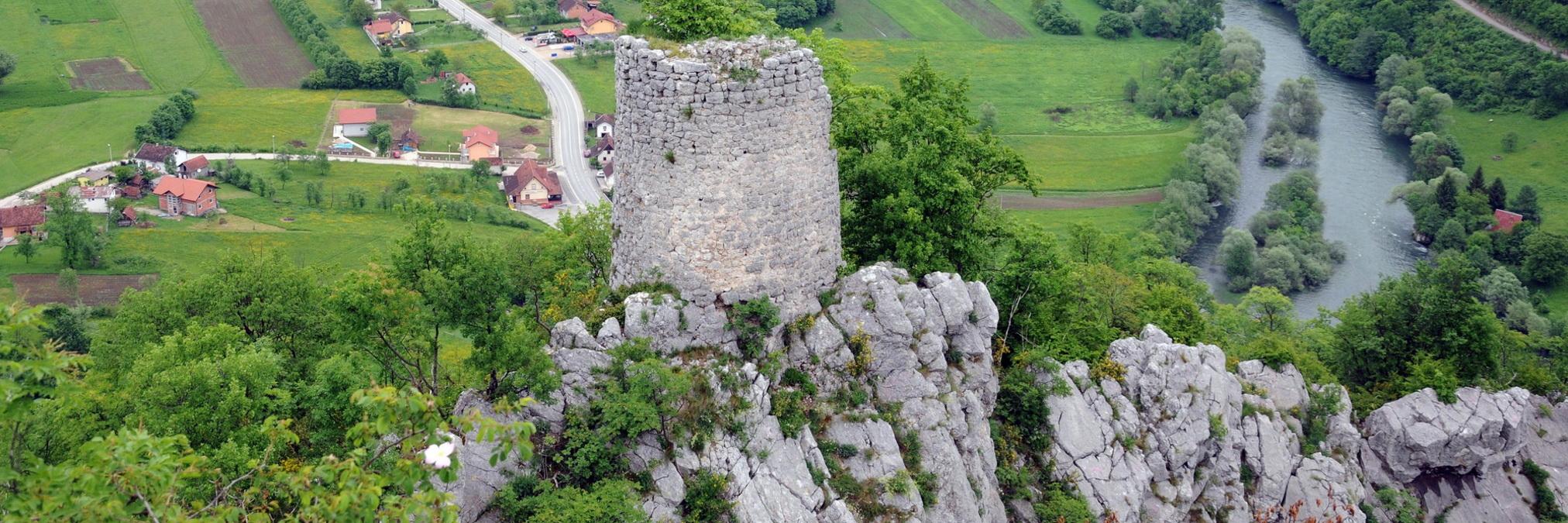 Крепость Гребен. Фото: Darko Gavric, CC-BY-SA-3.0