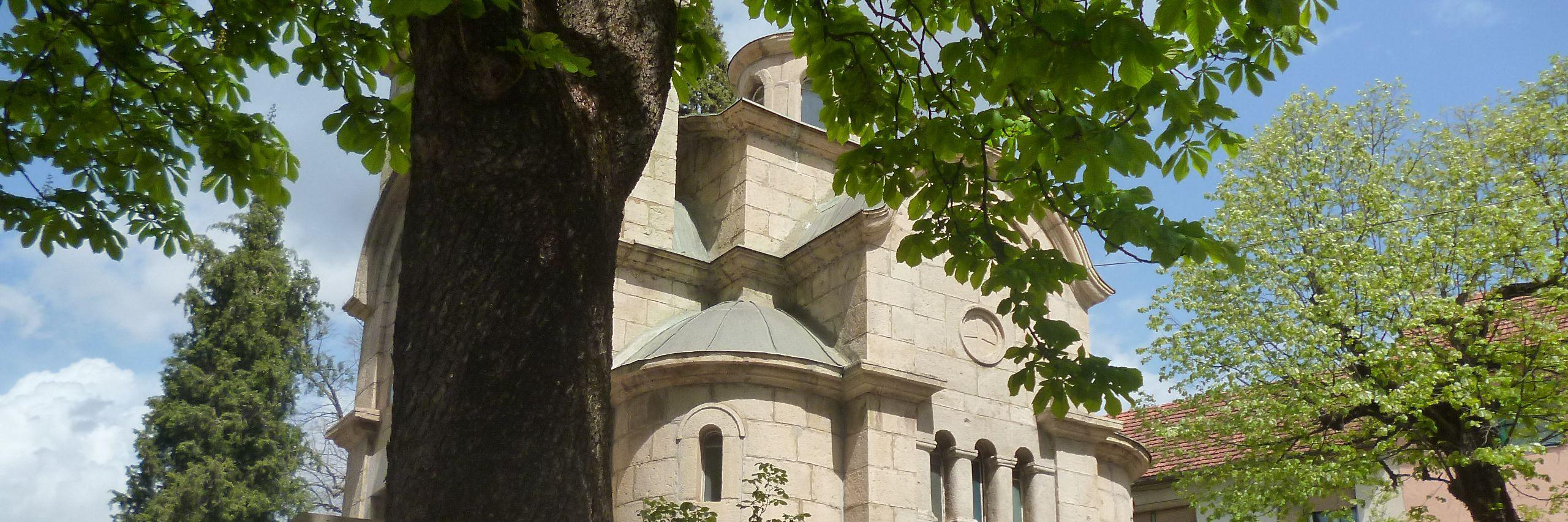 Церковь св. царя Лазара в Билече. Фото: Елена Арсениевич, CC BY-SA 3.0