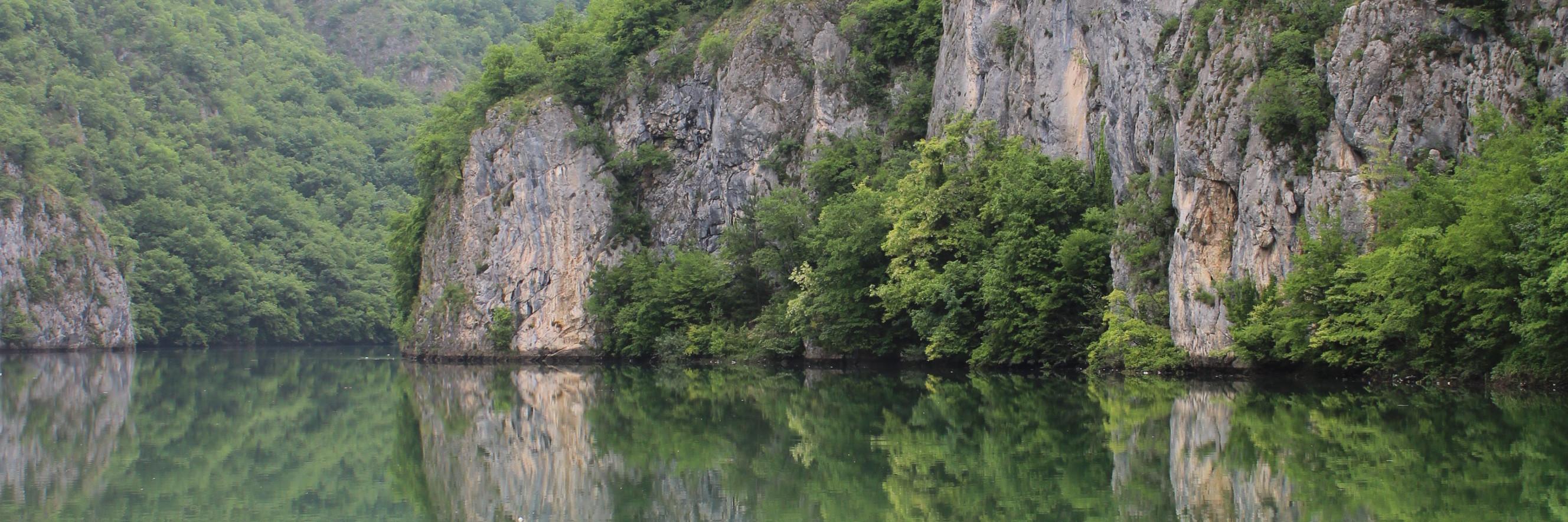 Каньон реки Лим