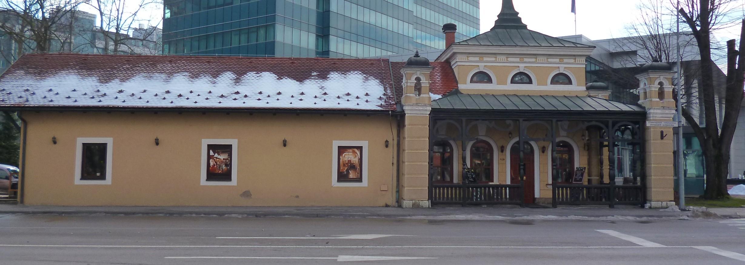 Малая железнодорожная станция. Фото: Елена Арсениевич, CC BY-SA 3.0