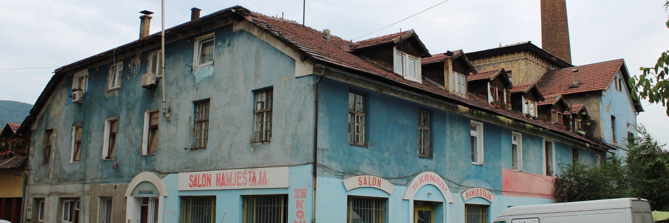 Бывшая бумажная фабрика. Фото: Елена Арсениевич, CC BY-SA 3.0