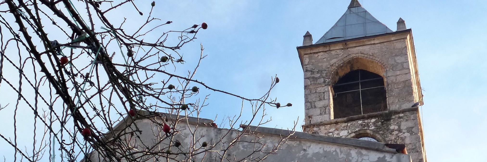 Часовая башня в Мостаре