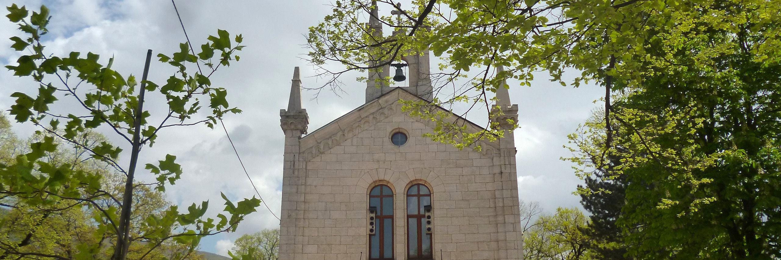Церковь св. Саввы в Билече. Фото: Елена Арсениевич, CC BY-SA 3.0