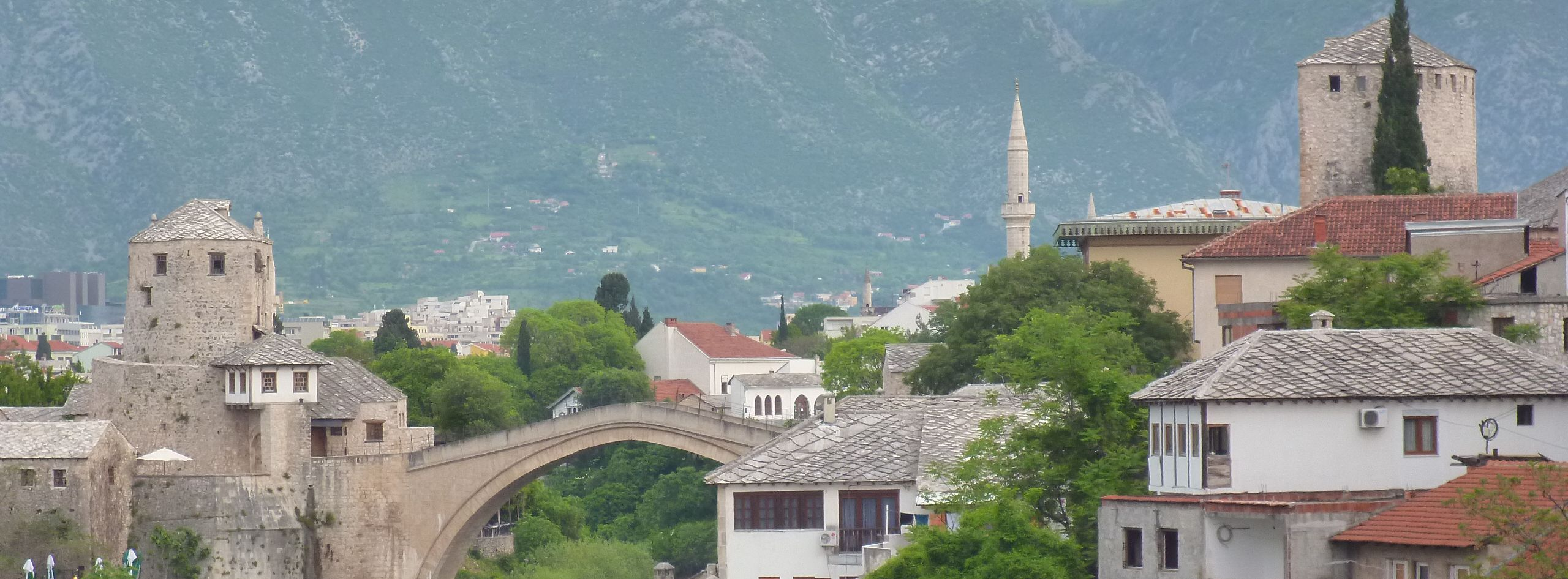 Башни Тара и Халебия. Фото: Елена Арсениевич, CC BY-SA 3.0