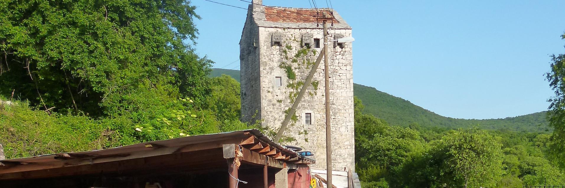 Комадова башня. Фото: Елена Арсениевич, CC BY-SA 3.0