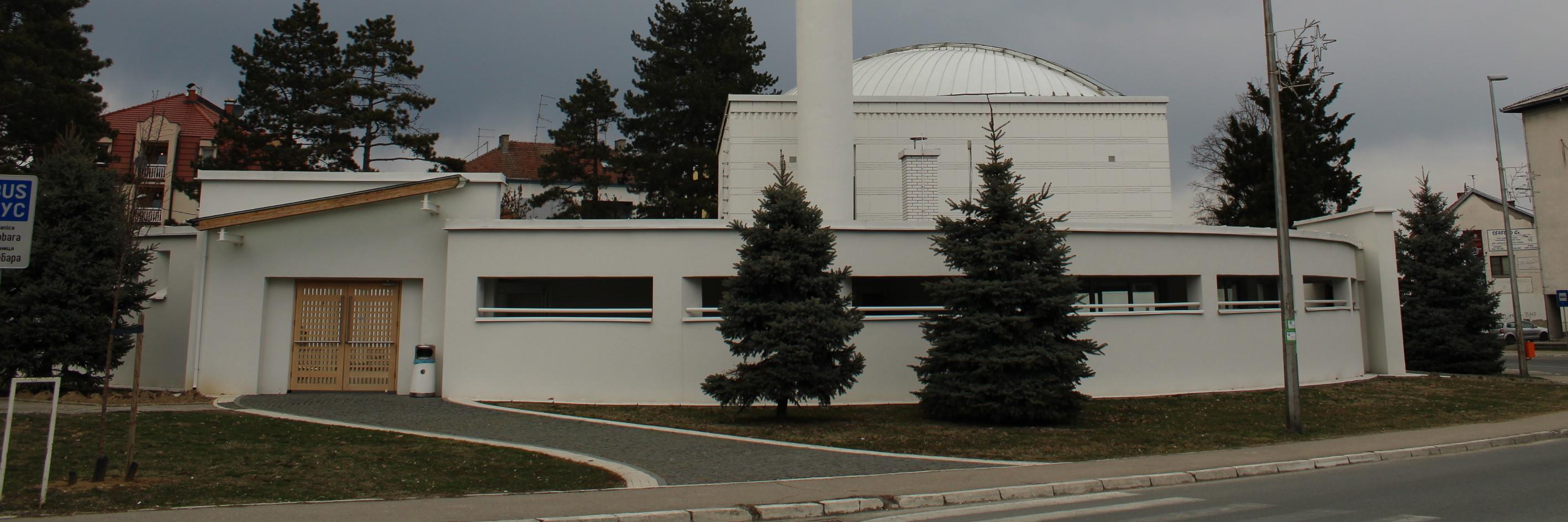 Белая мечеть в Брчко. Фото: Елена Арсениевич, CC BY-SA 3.0