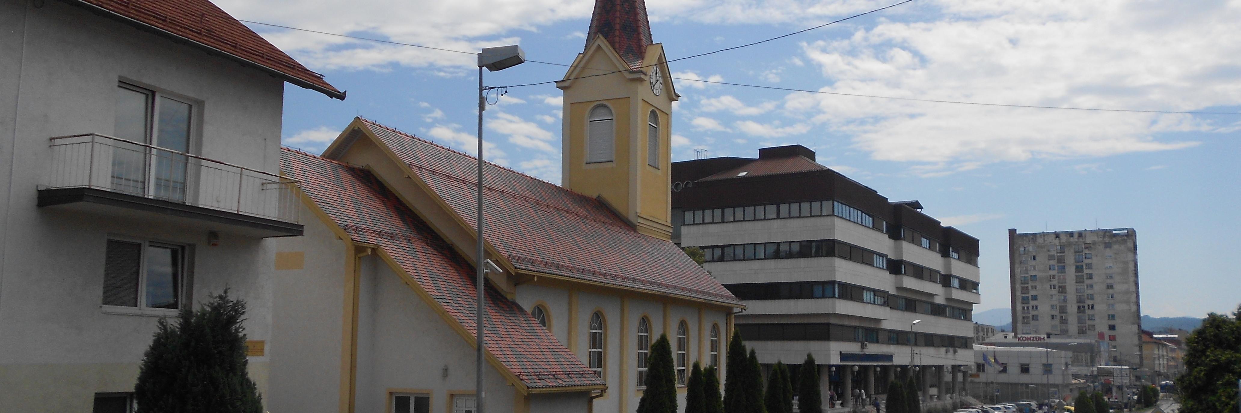 Церковь Святейшего Сердца Иисуса в Добое
