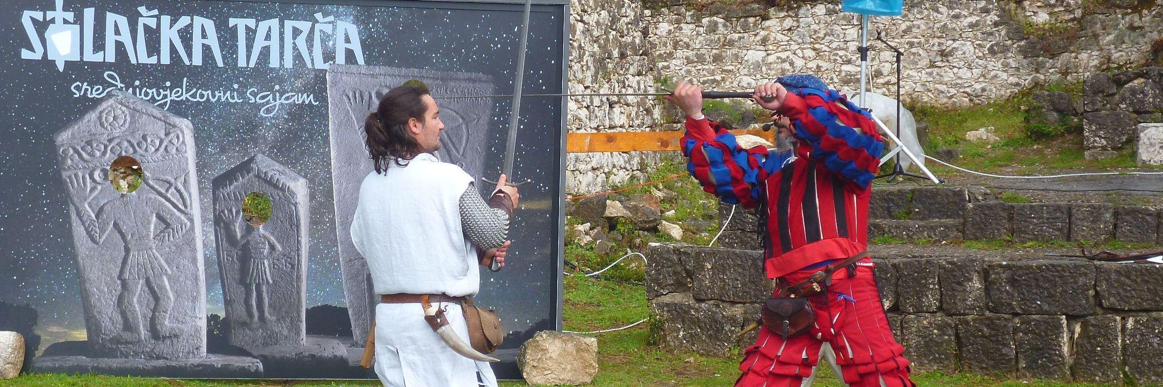 Средневековый фестиваль в Столаце
