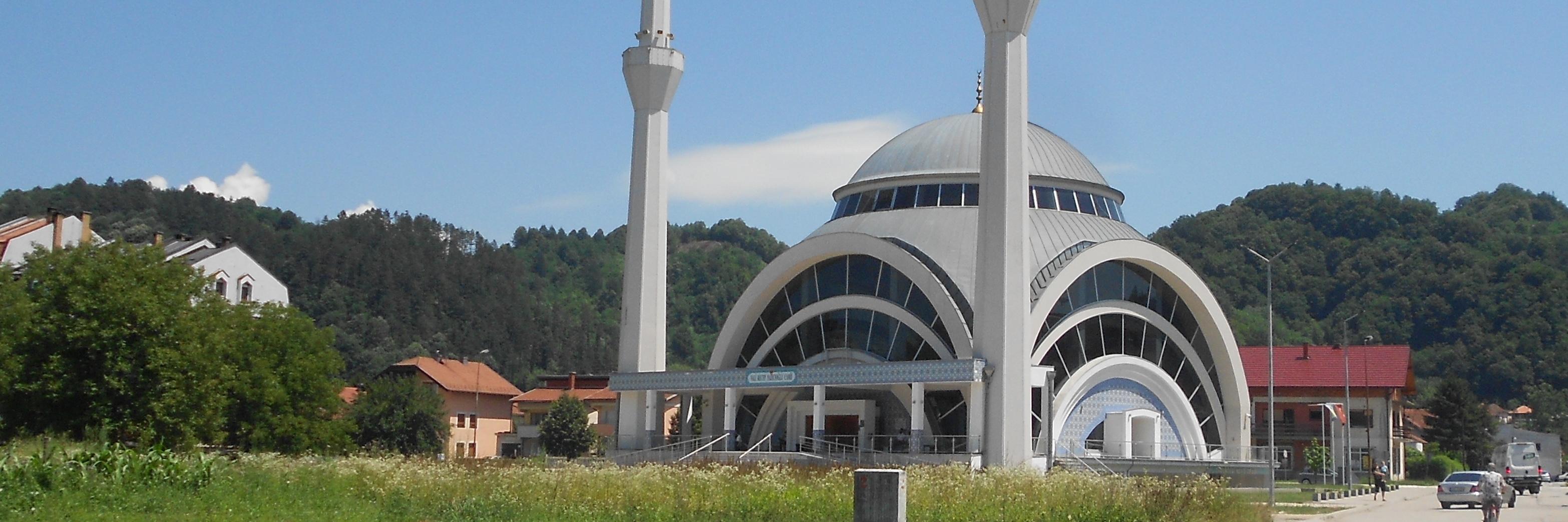 Новая городская мечеть в Маглае. Фото: Елена Арсениевич, CC BY-SA 3.0