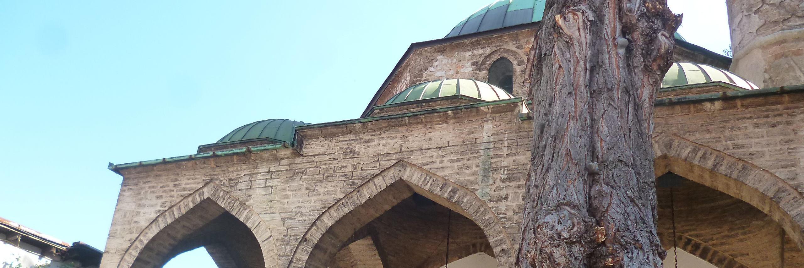 Башчаршийская мечеть. Фото: Елена Арсениевич, CC BY-SA 3.0