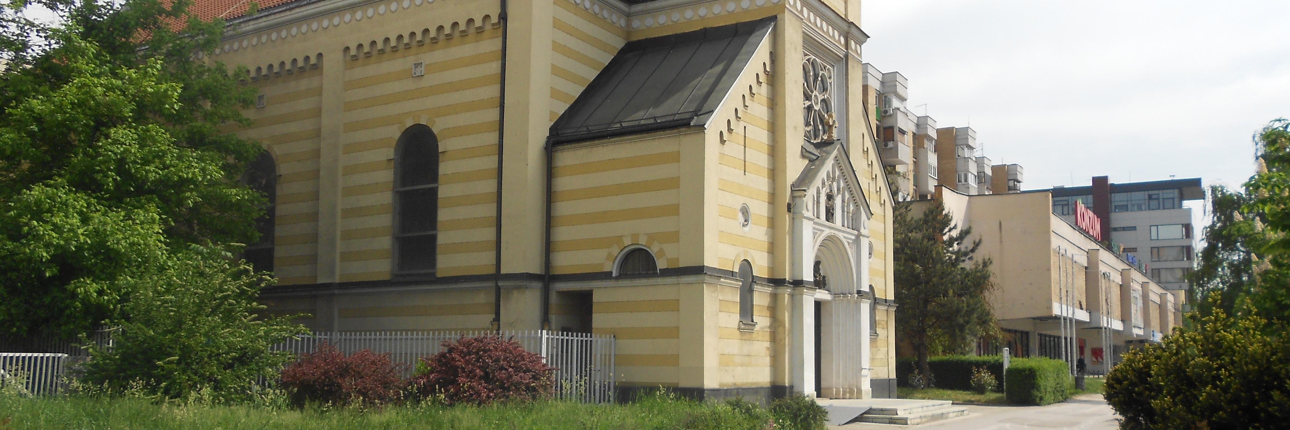 Церковь св. Троицы. Фото: Елена Арсениевич, CC BY-SA 3.0