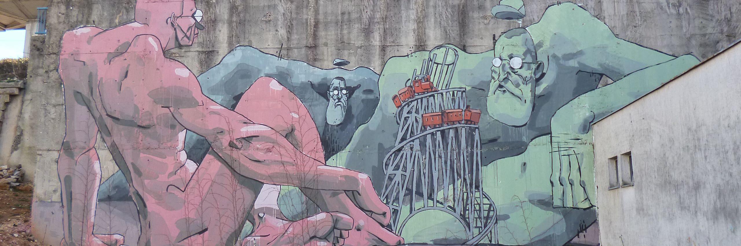 Граффити в Мостаре