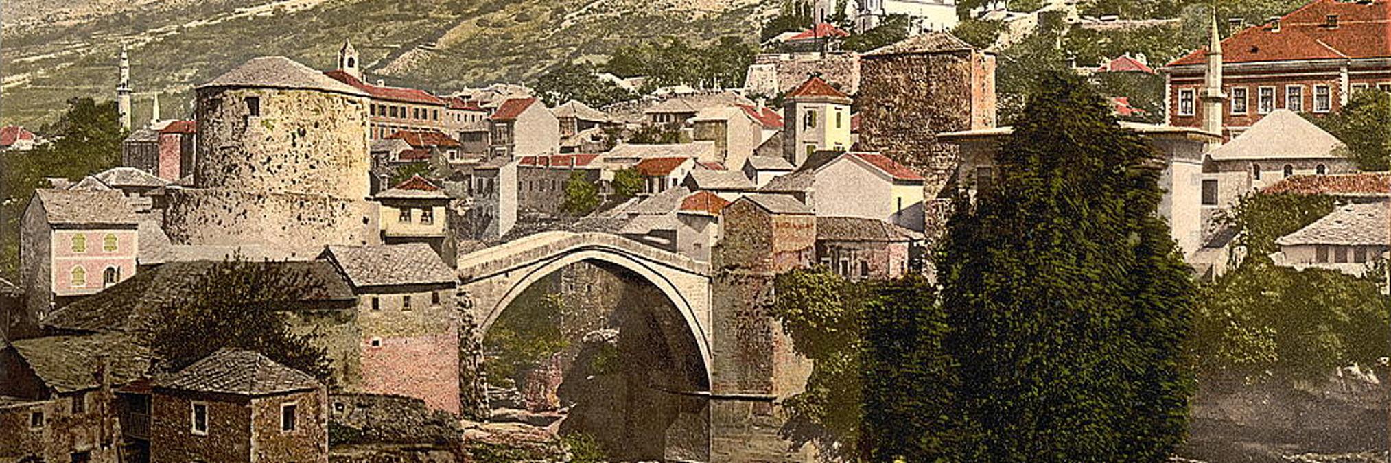 Хенрик Реннер о Старом мосте в Мостаре