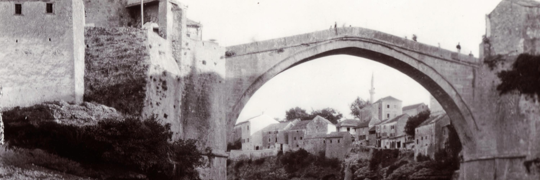 Мостар. Фото: FOTO:Fortepan — ID 76326, Public Domain.