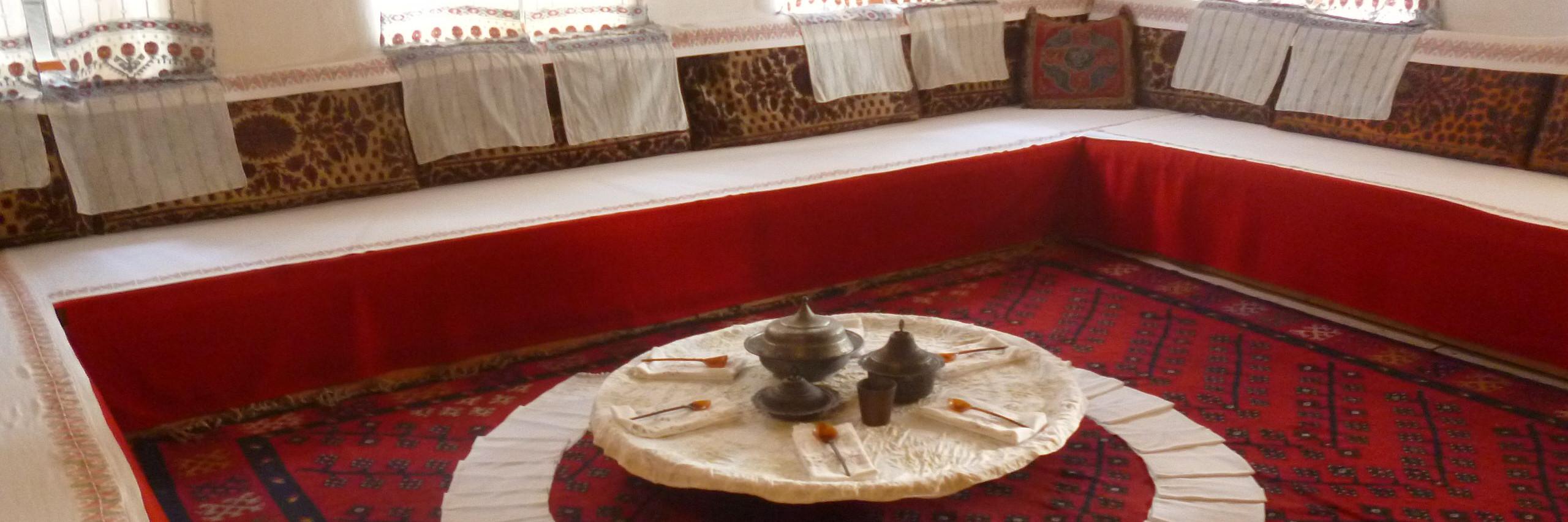 Антун Ханги об интерьере мусульманского дома