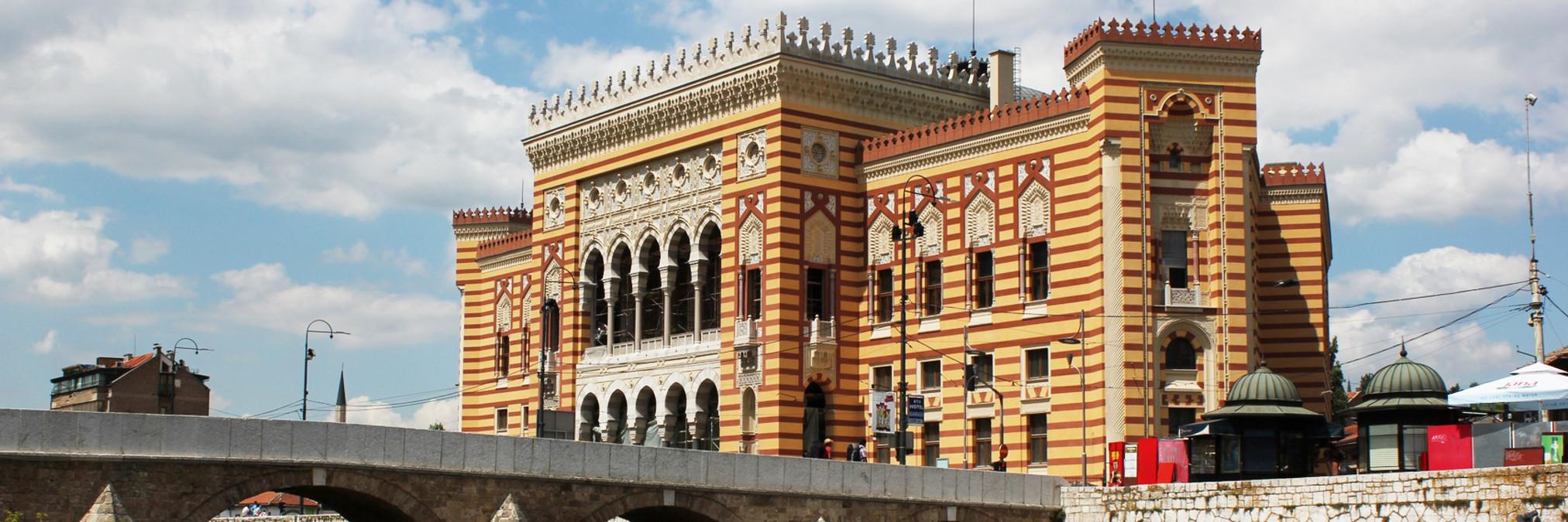7 самых красивых австрийских зданий в Сараеве