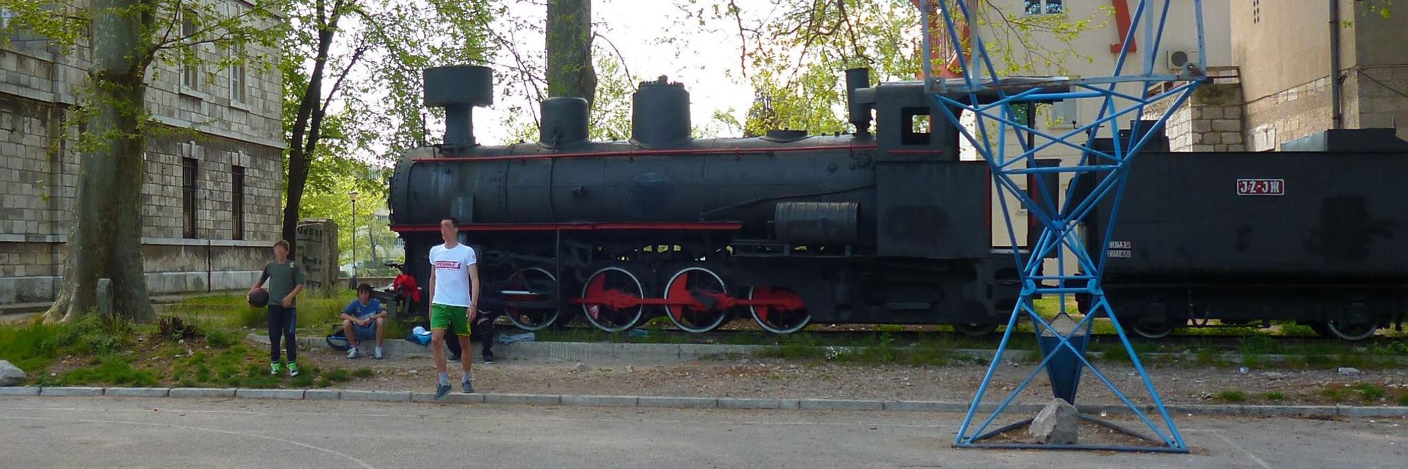 Старая железнодорожная станция в Требине. Фото: Елена Арсениевич, CC BY-SA 3.0