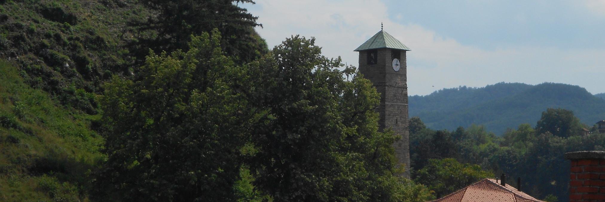 Часовая башня в Тешане