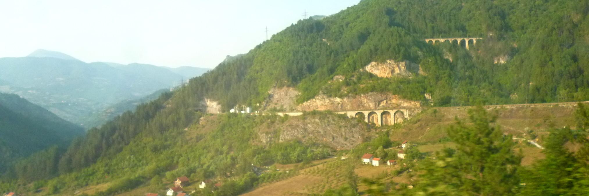 Из Сараево в Мостар на поезде