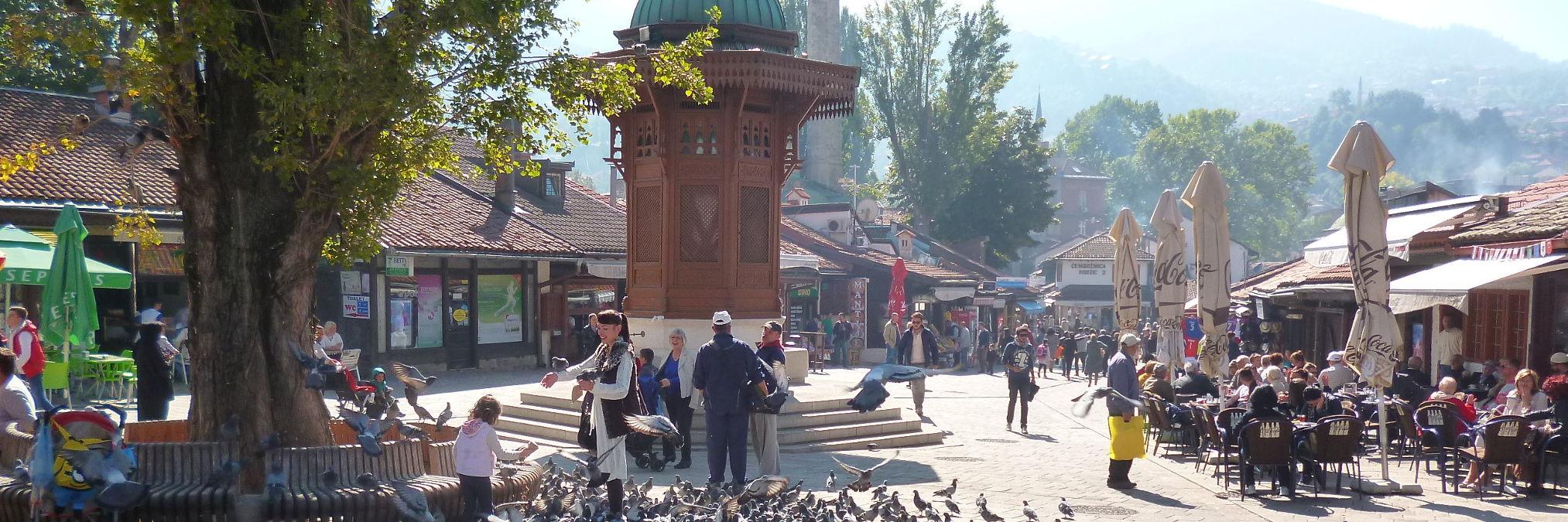 Сараево. Обзорная экскурсия