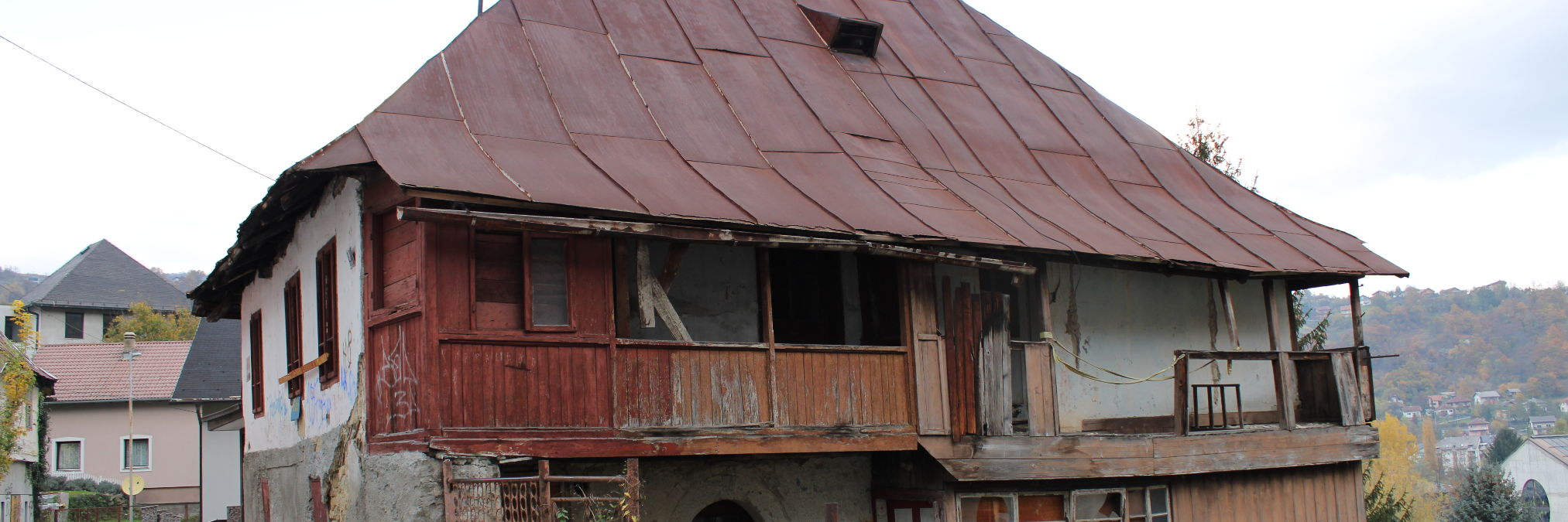 Старинный дом в Вароши в Яйце