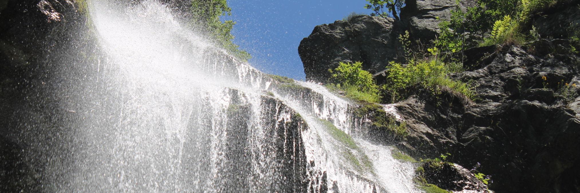 Ждримачский водопад
