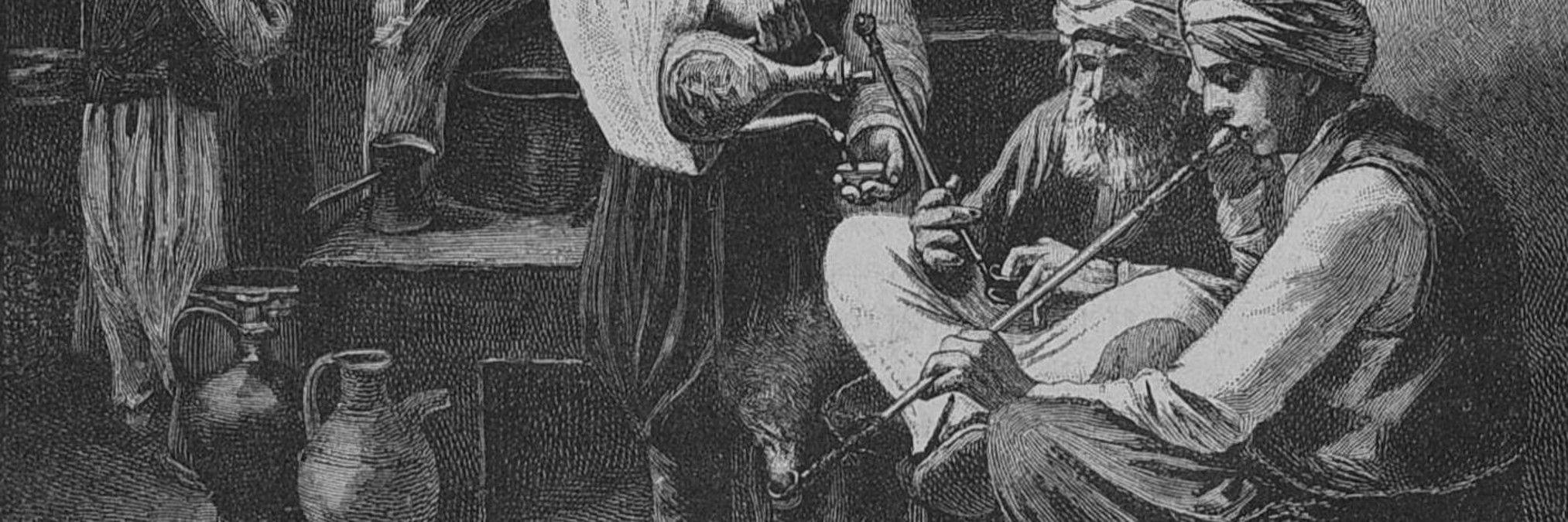 Чибук. Die Gartenlaube, public domain